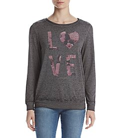 Betsey Johnson® Love Cursive Logo Tee