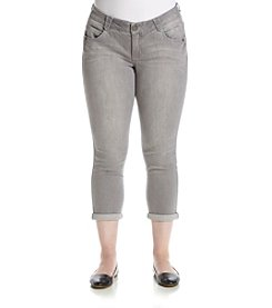 Democracy Plus Size Ankle Denim