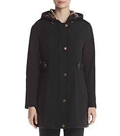 Via Spiga® Softshell Snap Front Coat
