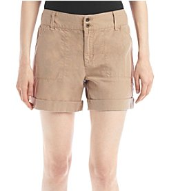 Ruff Hewn Linen Cargo Shorts