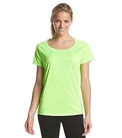 Exertek® Petites' Scoop Neck Tee