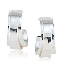 Lauren Ralph Lauren® Double Wrap Hoop Clip Earrings