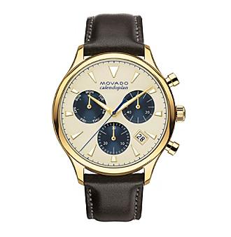 Movado™ Heritage Series Men's Triple Chronograph Watch