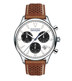 Movado™ Heritage Series Men's Triple Chronograph Watch