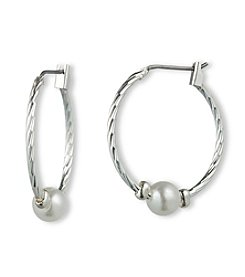 Gloria Vanderbilt™ Hoop Slider Earrings