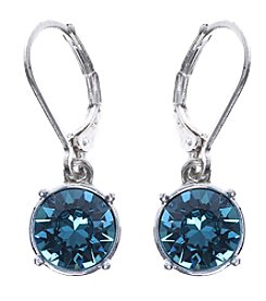 Gloria Vanderbilt™ Indicolite Crystal Drop Earrings