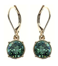 Gloria Vanderbilt™ Crystal Erinite Drop Earrings
