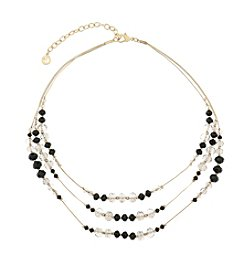 Gloria Vanderbilt™ Multi Row Beaded Necklace