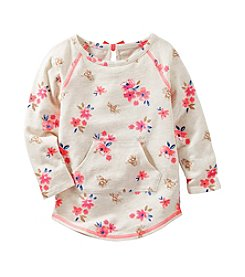 OshKosh B'Gosh® Girls' 2T-8 Floral Printed Tunic Top