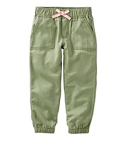 OshKosh B'Gosh® Girls' 2T-8 Joggers