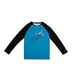 PUMA® Boys' 4-7 Long Sleeve Tee