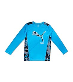 PUMA® Boys' 8-20 Big Cat Long Sleeve Tee