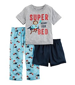 Carter's® Baby Boys' Super Ready For Bed 3-Piece Pajama Set