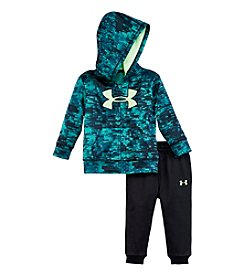 Under Armour® Baby Boys Blurred Hoodie Set