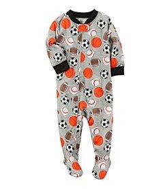Carter's® Baby Boys' Sport Ball One-Piece Pajamas