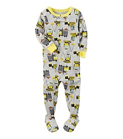 Carter's® Boys' 12M-4T Construction Footie