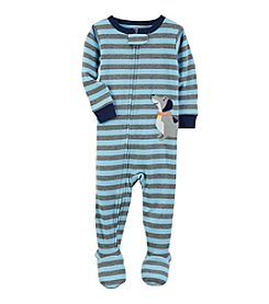 Carter's® Boys' 12M-4T Striped Dog Footie