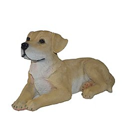 Kelkay Laying Yellow Lab Statue