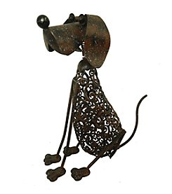 Kelkay Metal Art Dog Statue