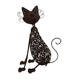 Kelkay Metal Art Cat Statue