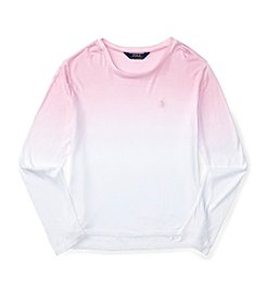 Polo Ralph Lauren® Girls' 7-16 Dip Dye Tee