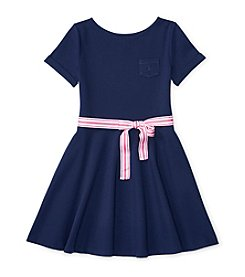 Polo Ralph Lauren® Girls' 7-16 Ponte Dress With Bow