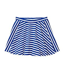 Polo Ralph Lauren® Girls' 7-16 Flared Striped Skirt