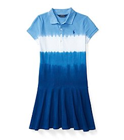 Polo Ralph Lauren® Girls' 7-16 Drop-Waist Dip Dye Dress