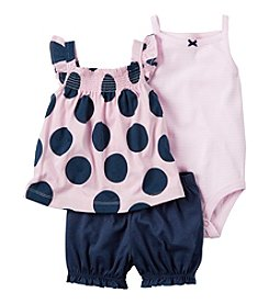 Carter's® Baby Girls' 3-Piece Dot Set