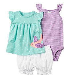 Carter's® Baby Girls' 3-Piece Bird Set
