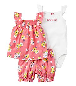 Carter's® Baby Girls' 3-Piece Flower Set