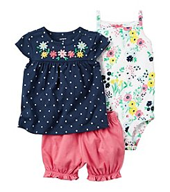 Carter's® Baby Girls' 3-Piece Floral Set