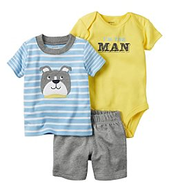Carter's® Baby Boys' 3-Piece Bulldog Set
