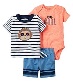 Carter's® Baby Boys' 3-Piece Monkey Set