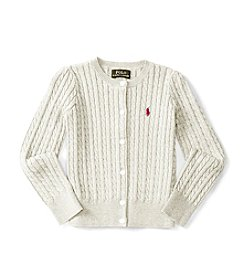 Polo Ralph Lauren® Girls' 2T-6X Polo Cardigan