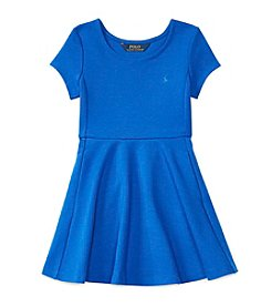 Polo Ralph Lauren® Girls' 2T-6X Polo Fit and Flare Dress