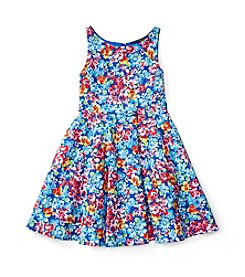 Polo Ralph Lauren® Girls' 2T-6X Floral Fit and Flare Dress