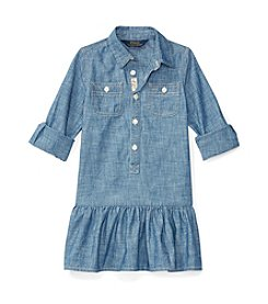 Polo Ralph Lauren® Girls' 2T-6X Flared Chambray Dress
