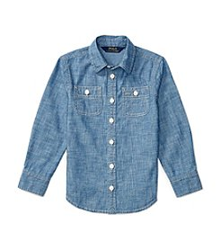 Polo Ralph Lauren® Girls' 2T-6X Chambray Top