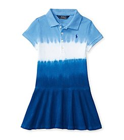 Polo Ralph Lauren® Girls' 2T-6X Polo Dip Dye Dress