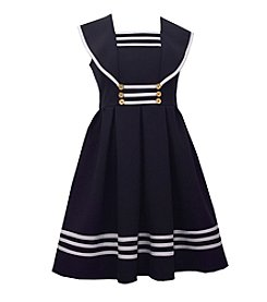 Bonnie Jean® Girls' 4-6X Sailor Cap Sleeve Dress