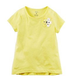 Carter's® Girls' 2T-8 Rosette Top