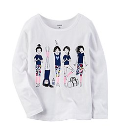 Carter's® Girls' 2T-8 Yoga Long Sleeve Tee