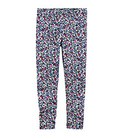 Carter's® Girls' 2T-8 Floral Printed Leggings