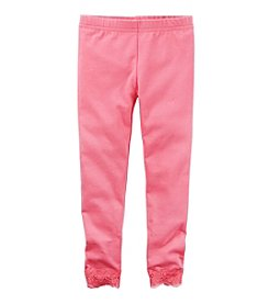 Carter's® Girls' 2T-8 Solid Leggings