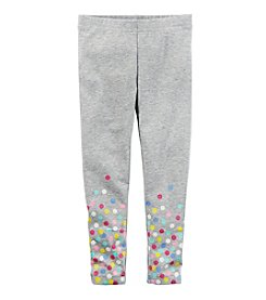 Carter's® Girls' 2T-8 Dotted Print Leggings