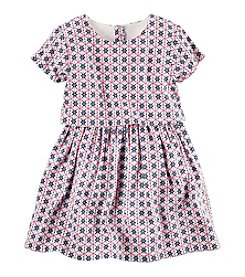 Carter's® Girls' 2T-8 Popover Printed Dress