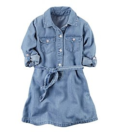 Carter's® Girls' 2T-8 Denim Chambray Dress