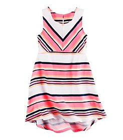 Carter's® Girls' 2T-8 Striped Jersey Dress