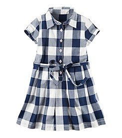 Carter's® Girls' 4-8 Plaid Poplin Dress